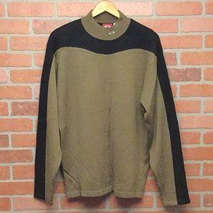 Oakley Men's sweater size L large wool blend